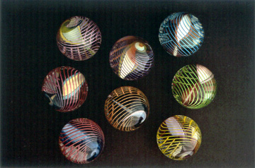 Cage Ribbon marbles