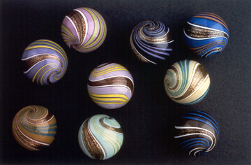 Banded Lutz marbles